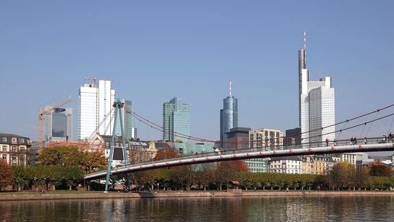 Skyline der Frankfurter Innenstadt