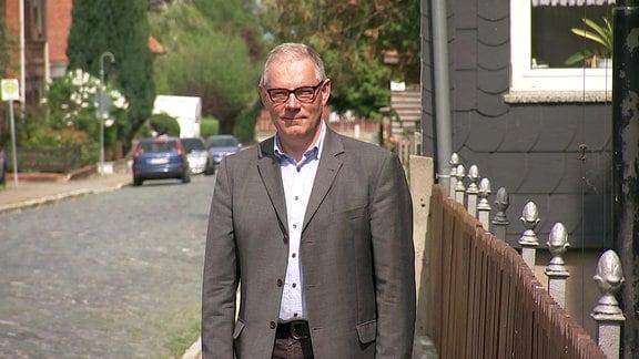 Thomas Krüger, Bürgermeister der Gemeinde Huy.