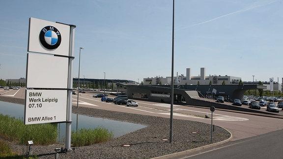 Das BMW-Werk Leipzig.