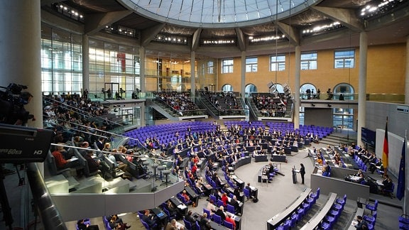Sitzung des Deutschen Bundestags