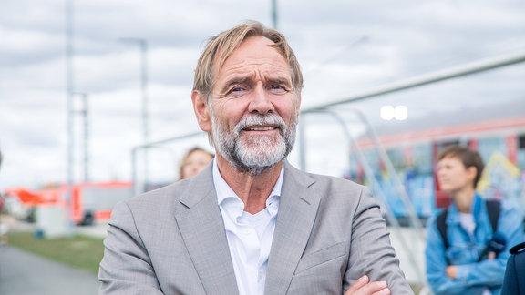 Leipzigs Oberbürgermeister Burkhard Jung