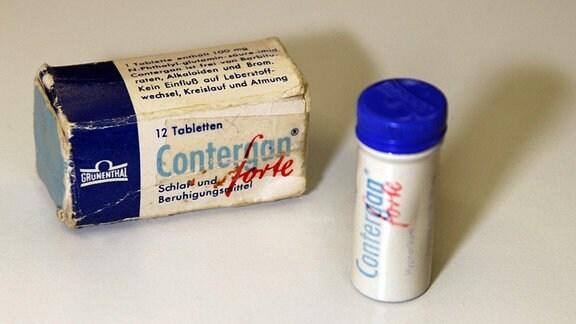 Eine Packung Contergan