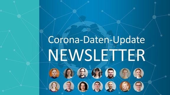 Grafik: Das Team des Corona-Daten-Update-Newsletters