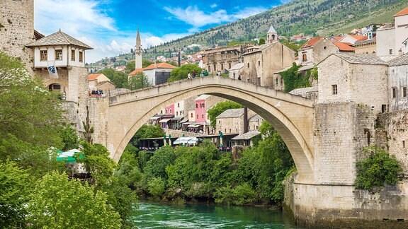 Mostar in Bosnien