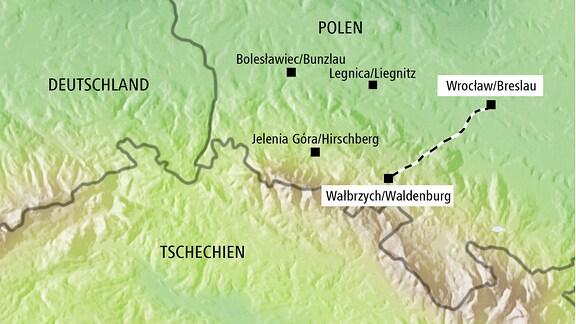 Grabung nach Gold-Zug in Polen
