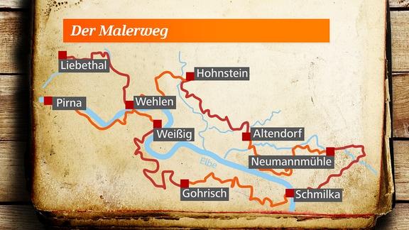 Malerweg - Sächsische Schweiz