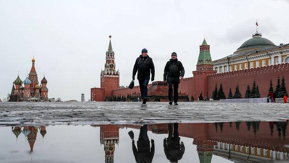 Quarantäne in Moskau