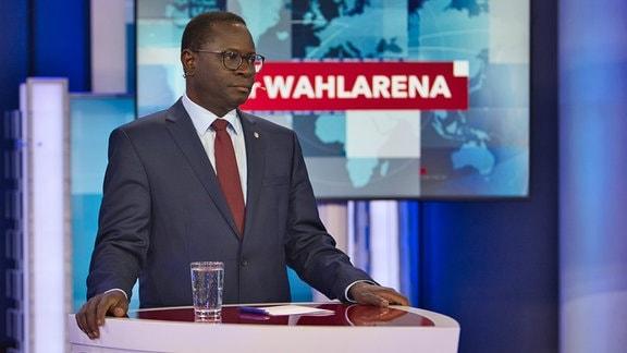MDR-Wahlarena am 13.09.2021 - Karamba Diaby (SPD)