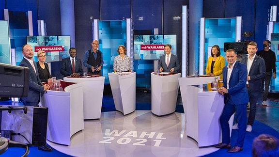 MDR-Wahlarena am 13.09.2021