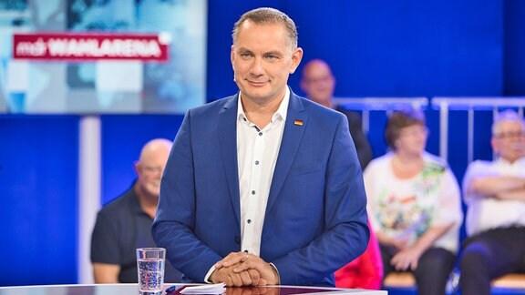 MDR-Wahlarena am 13.09.2021 - Tino Chrupalla (AfD)