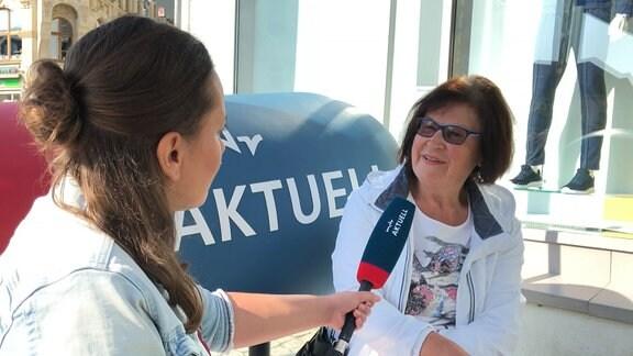 Christine Thomä, Rentnerin