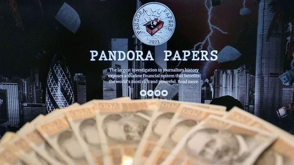 Illustration Pandora Papers