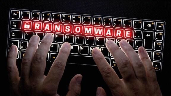Ransomware - Hacker - Schadsoftware