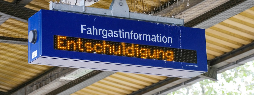 Lokfuhrerstreik Auch Am Dienstag Zugausfalle Der Bahn In Sachsen Mdr De