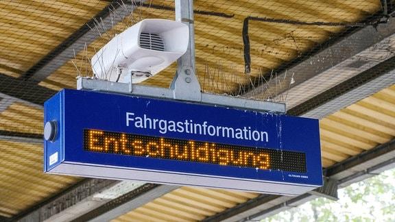 Streik bei der Deutsche Bahn
