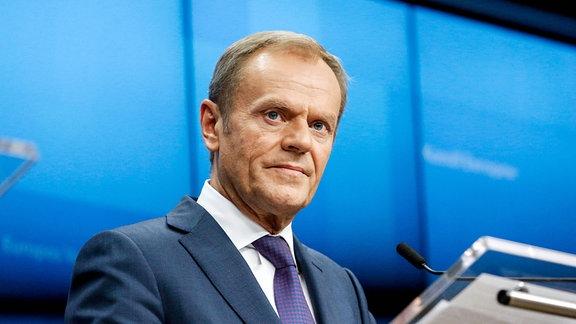 Donald Tusk, Chef der EU-Kommission