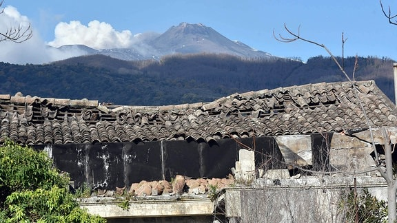 Erdbeben erschüttert Sizilien Catania, Pisano.