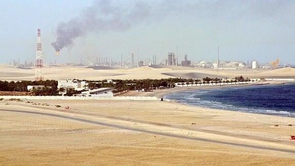 Erdöl- und Erdgas-Förderung in Katar