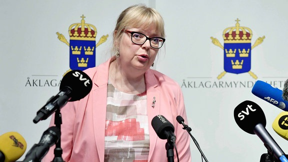 Eva-Marie Persson Direktorin der Staatsanwaltschaft Schweden