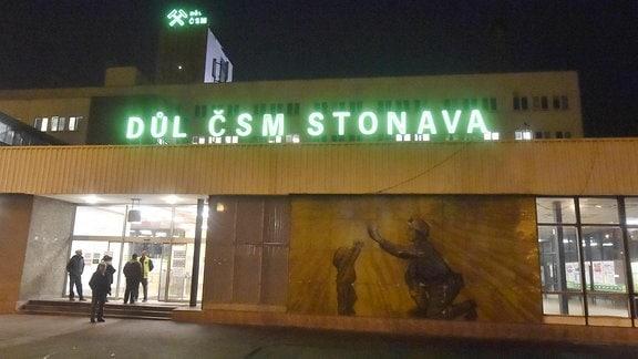 Dul CSM-Kohlemine in Stonava in der Nähe von Karvina