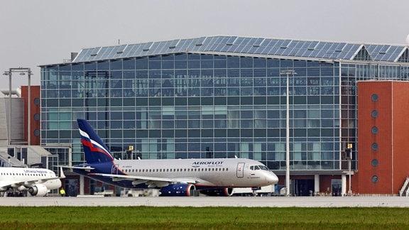 Terminal des Flughafen Dresden-Klotzsche