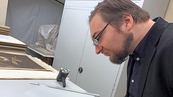Mirko Gutjahr, wissenschaftlicher Mitarbeiter der Luther-Gedenkstätten Sachsen-Anhalt