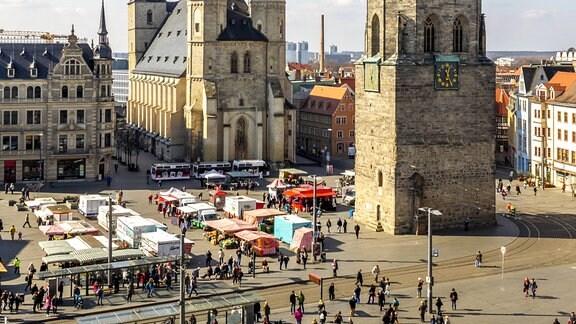 Wochenmarkt Halle