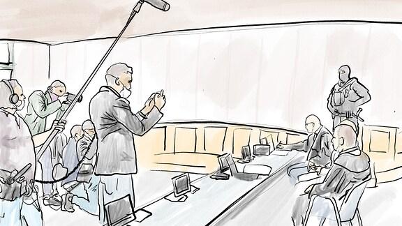Am Landgericht Magdeburg begann am 21. Juli 2020 der Prozess gegen den mutmaßlichen Attentäter von Halle Saale, Stephan B.