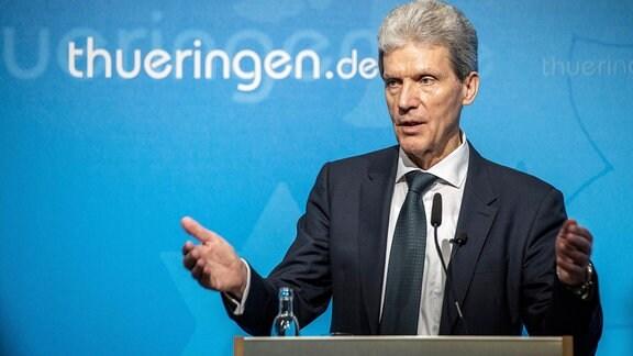 Helmut Holter Bildungsminister Thüringen