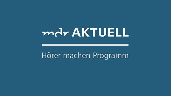 """Logo von MDR AKTUELL mit dem Schriftzug """"Hörer machen Programm"""""""