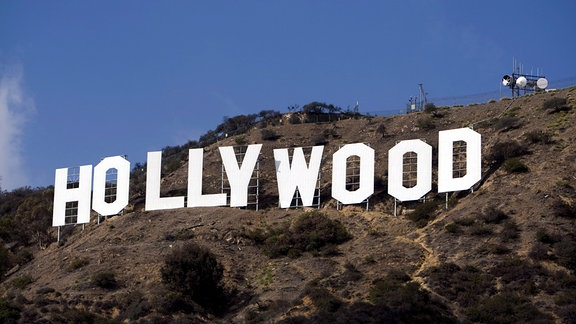 "Schriftzug ""Hollywood"" in den Hollywood Hills, 2007"