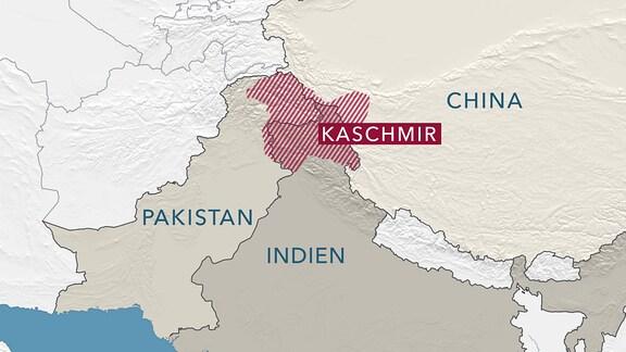 Kaschmirgebirge in Pakistan