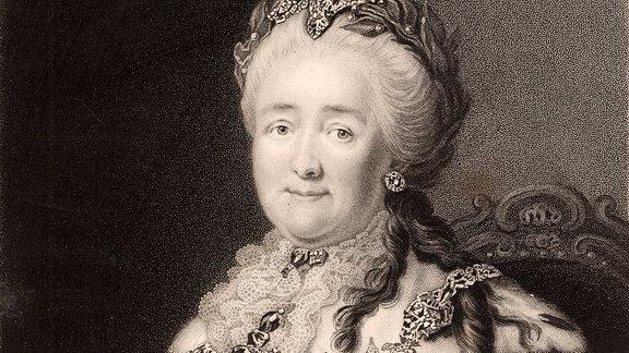 Katharina die Große (1729-1796), Kaiserin von Russland