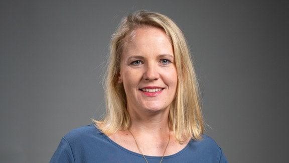 MDR Aktuell Redaktionsleiterin Christin Bohmann