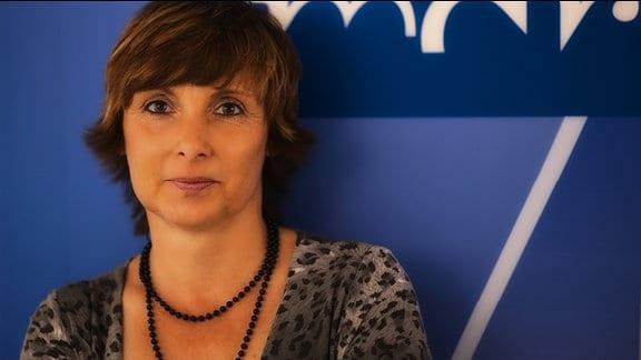 Angelika Menz, Redaktionsassistentin im Bereich Sport