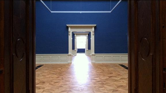 Innenansicht des Herzoglichen Museums in Gotha