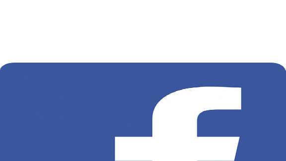 Das Logo von Facebook