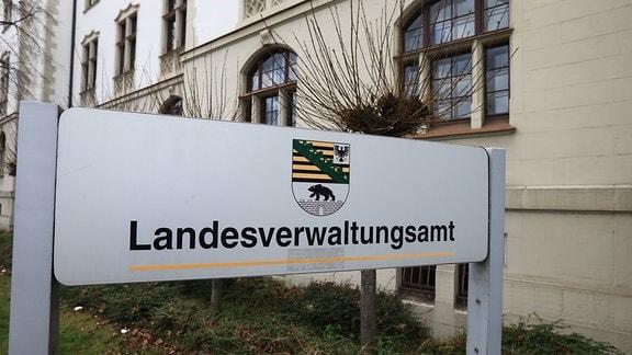 Das Landesverwaltungsamt in Halle/Saale (Sachsen-Anhalt)
