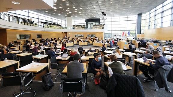 Plenum im Thüringer Landtag