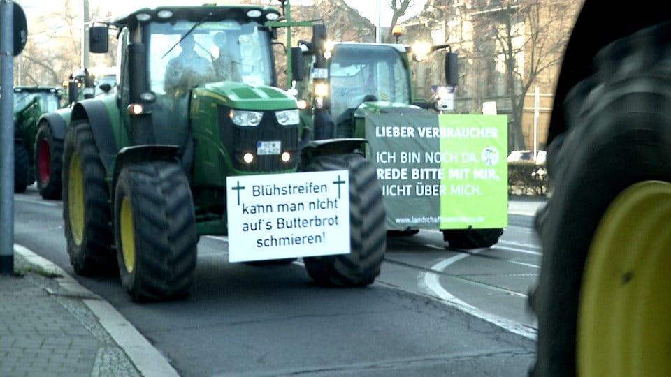 Ein Bauer berichtet: deshalb protestieren wir | MDR.DE