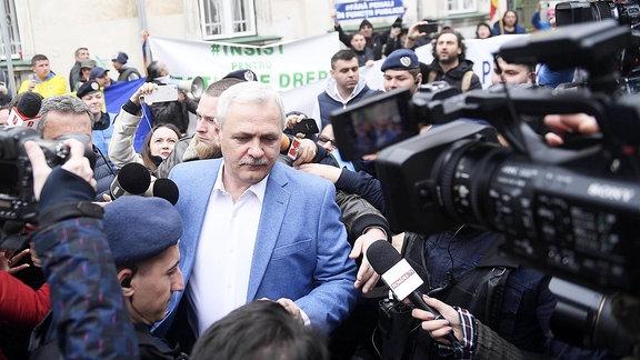 Chef der rumänischen Regierungspartei, Liviu Dragnea.