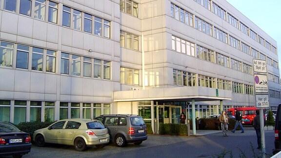 Landeskriminalamt von Sachsen-Anhalt in Magdeburg