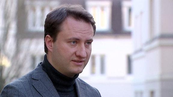 Mark Hauptmann Anfang März 2021 im MDR-Interview.