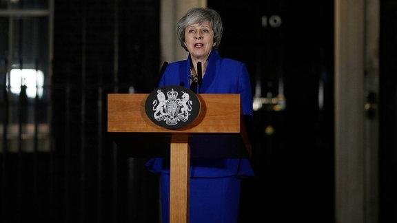 Premierministerin des Vereinigten Königreichs Theresa May