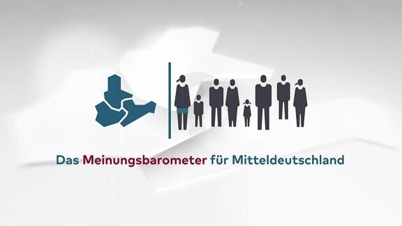 Logo mdrFRAGT - Das Meinungsbarometer für Mitteldeutschland