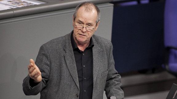 Friedrich Ostendorff, Buendnis 90/Die Gruenen, MdB, spricht im Bundestag. (2012)