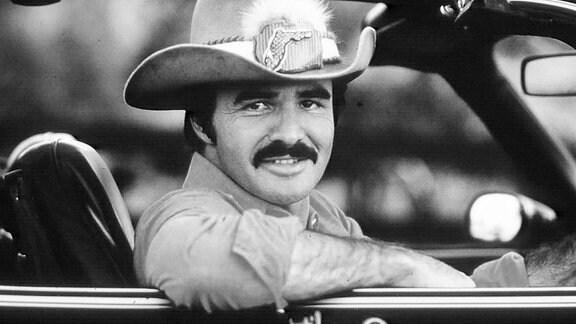 Burt Reynolds in dem Film ''Ein ausgekochtes Schlitzohr''.