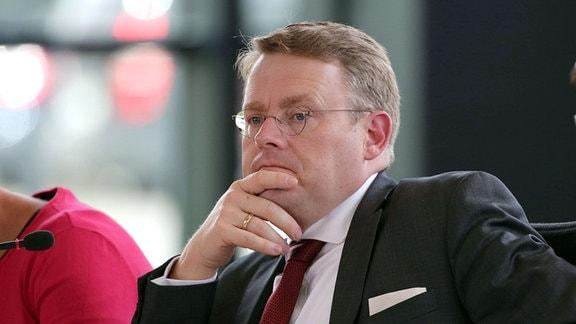 Landtagspräsident Christian Carius (CDU)