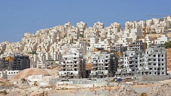 Die jüdische Siedlung Har Homa im Westjordanland