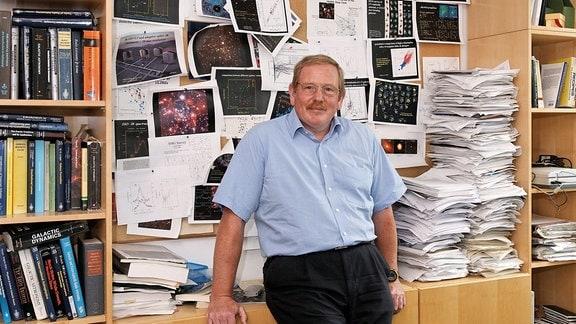 Reinhard Genzel, Direktor Max-Planck-Institut für extraterrestrische Physik in Garching
